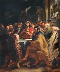 Het laatste avondmaal - Rubens