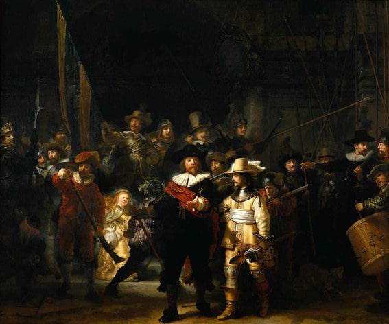 Reproductie Rembrandt - De Nachtwacht