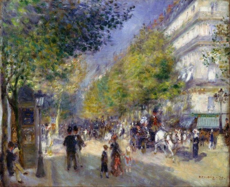 Renoir - De grote boulevards
