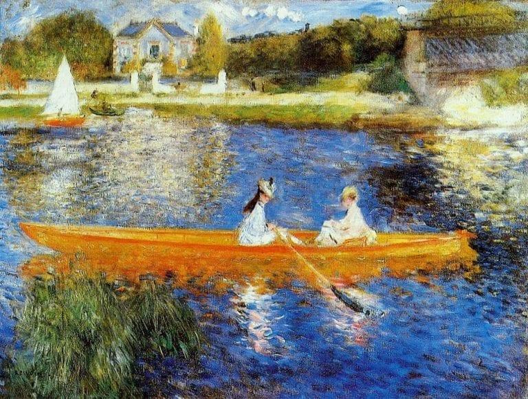 Renoir - Varen op de Seine