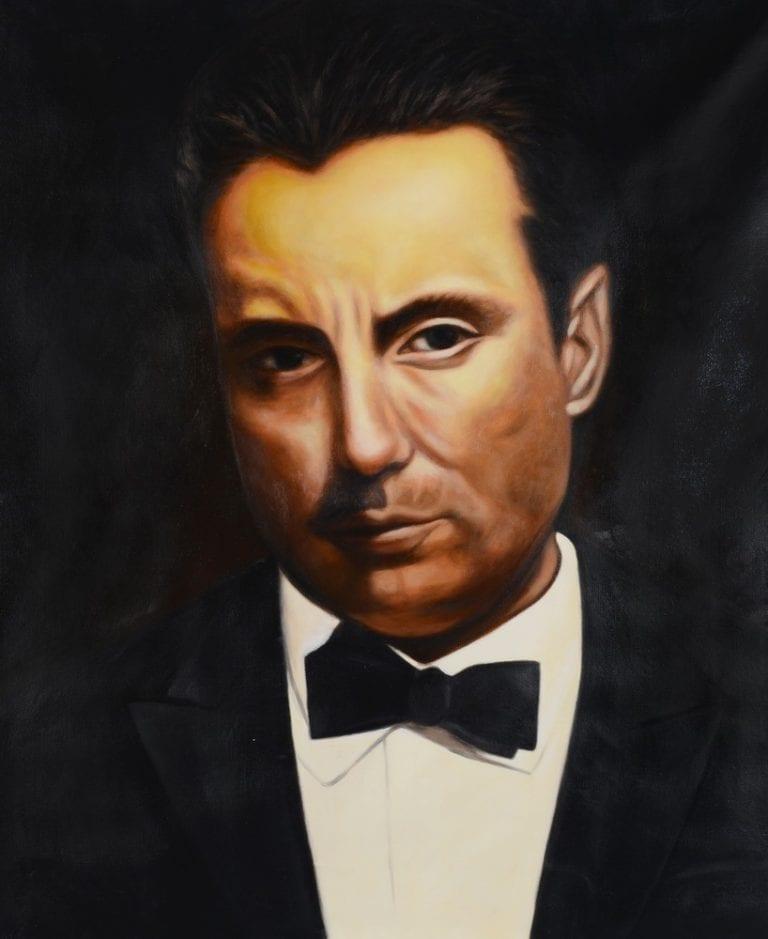 Schilderij Scarface