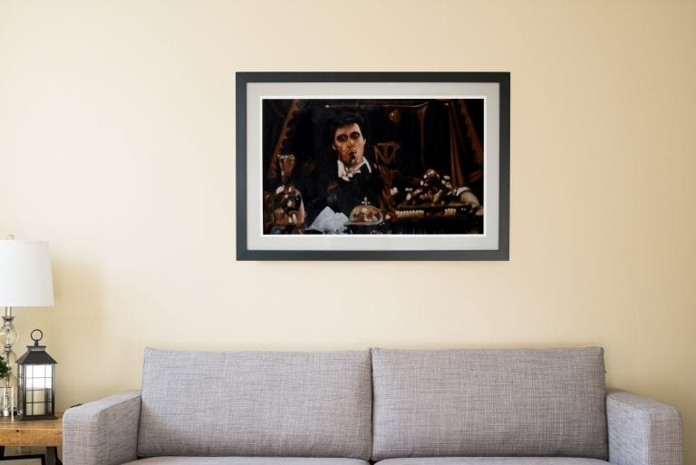Scarface schilderij