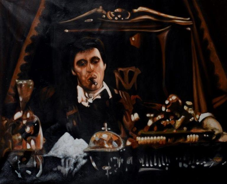 Scarface portret