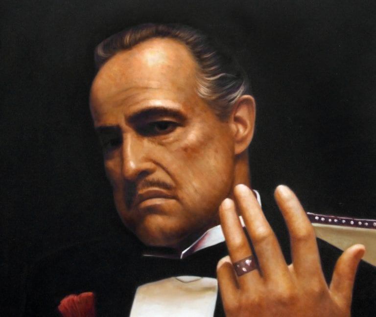 Godfather portret