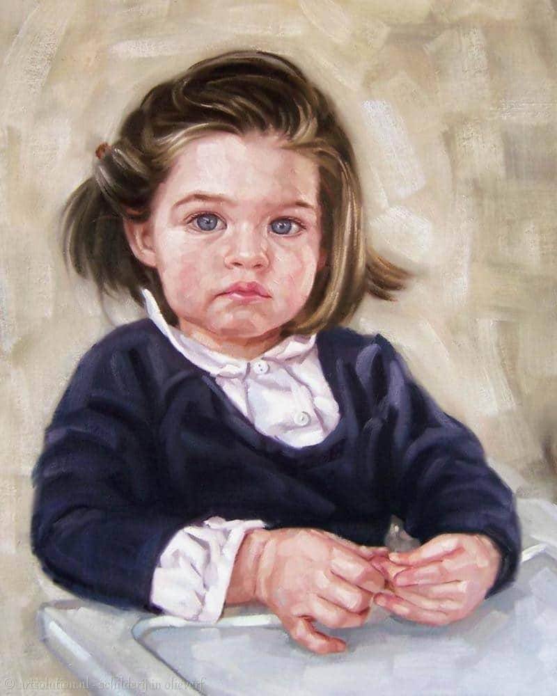 Schilderij meisje - Schilderij slaapkamer meisje ...