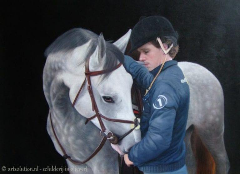 Portret paard