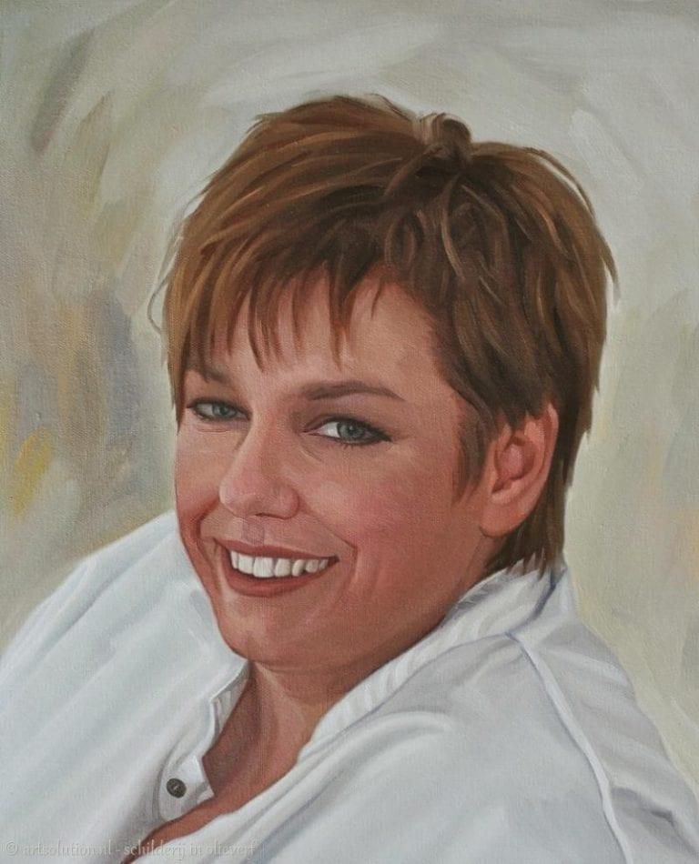 Portretschilderij vrouw