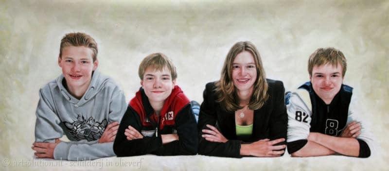 Groepsportret - familie