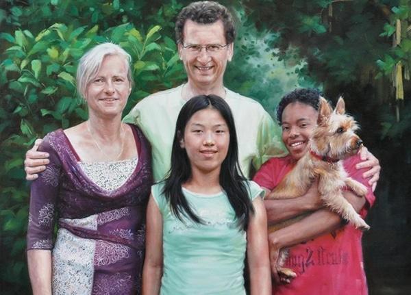 Familieportret - formeel