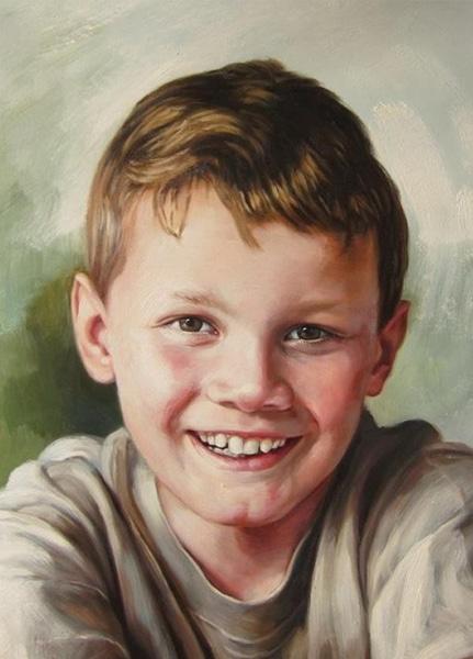 Portret jongen