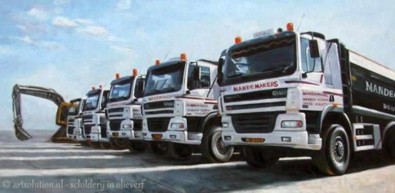 Wagenpark bedrijf