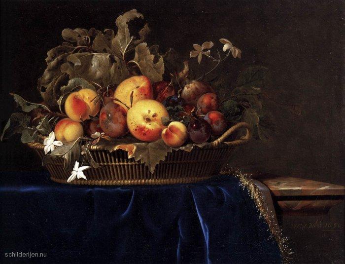 Stilleven - eten en drinken - schilderij