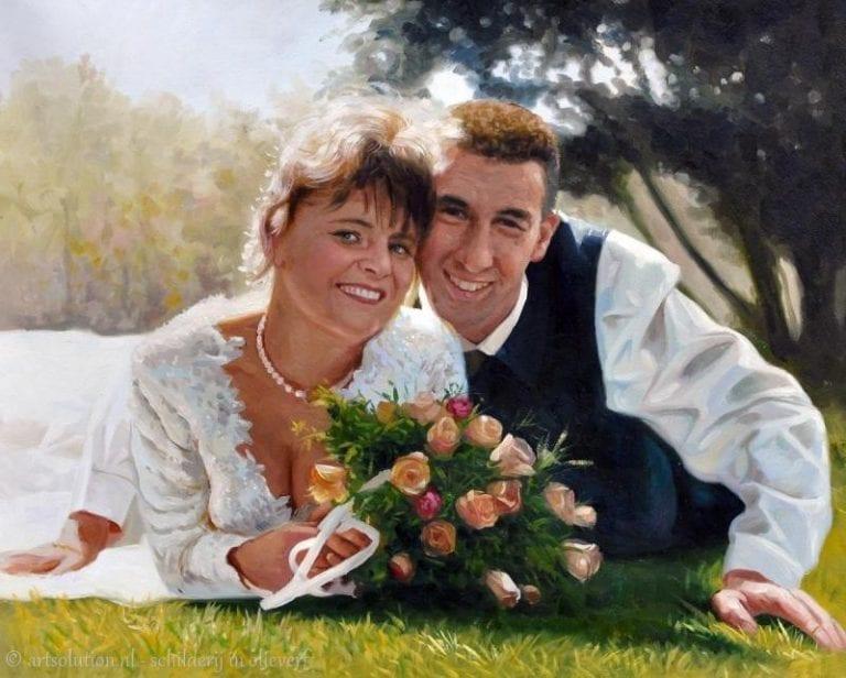 Portret huwelijk